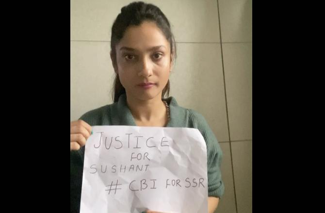 Ankita Lokhande's Appeal to the people