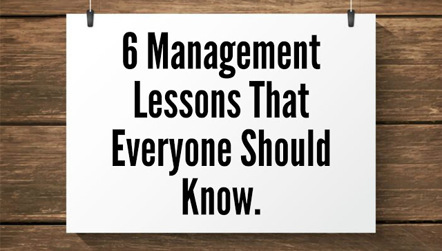 6 management lesson