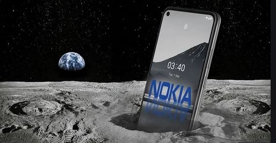 Nokia Selected to Install 4G Network on The Moon
